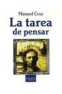 Papel TAREA DE PENSAR (COLECCION ENSAYO)