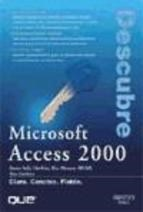 Papel Microsoft Access 2000 Descubre