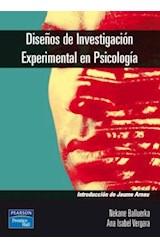 E-book Diseños de investigación experimental en psicología