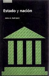 Libro Estado Y Nacion
