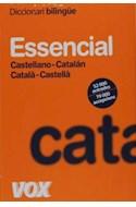 Papel DICCIONARI BILINGUE ESSENCIAL CASTELLANO CATALAN / CATA  LA CASTELLA (BOLSILLO)