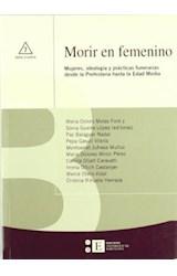 Papel MORIR EN FEMENINO