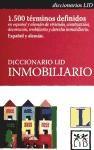 Libro Diccionario Lid Inmobiliario Español - Aleman