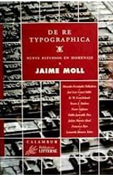 Papel De re typographica