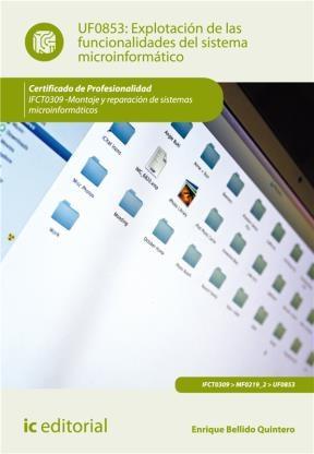 E-book Explotación De Las Funcionalidades Del Sistema Microinformático