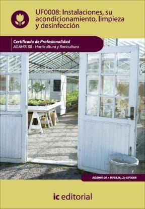 E-book Instalaciones, Su Acondicionamiento, Limpieza Y Desinfección