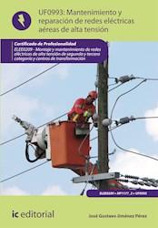 Libro Mantenimiento De Redes Electricas Aereas De Alta