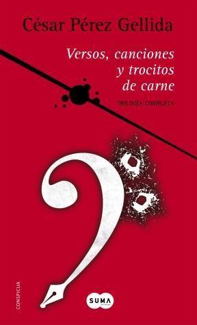 E-book Trilogía «Versos, Canciones Y Trocitos De Carne»