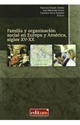Papel FAMILIA Y ORGANIZACION SOCIAL EN EUROPA Y AM