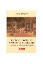 Papel ESPACIOS SOCIALES, UNIVERSOS FAMILIARES : LA