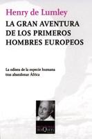 Libro La Gran Aventura De Los Primeros Hombres Europeos