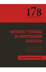 Papel METODOS Y TECNICAS DE INVESTIGACION EDUCATIVA