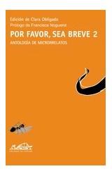 Papel POR FAVOR SEA BREVE 2 . ANTOLOGIA DE RELATOS