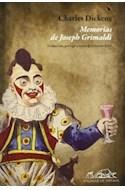 Papel MEMORIAS DE JOSEPH GRIMALDI (COLECCION VOCES 156 / ENSAYO)