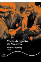 Papel VOCES DEL GUETO DE VARSOVIA