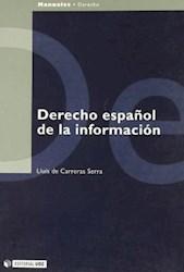 Papel Derecho Español De La Información