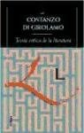 Papel Teoria Critica De La Literatura