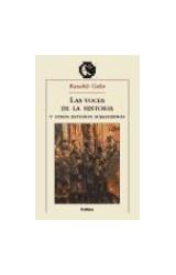 Papel LAS VOCES DE LA HISTORIA Y OTROS ESTUDIOS SUBALTERNOS,
