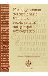 Papel FORMA Y FUNCION DEL DICCIONARIO . HACIA UNA