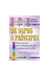 Papel DE SAPOS A PRINCIPES TRASCRIPCION DEL SEMINARIO DE LOS C