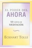 Papel PODER DEL AHORA 50 CARTAS DE MEDITACION (CAJA)