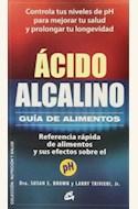Papel ACIDO ALCALINO, GUIA DE ALIMENTOS
