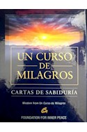 Papel UN CURSO DE MILAGROS CARTAS DE SABIDURIA (CONTIENE 144 CARTAS DE SABIDURIA) (CAJA)