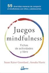 Libro Juegos Mindfulness Pack ( Libro + Fichas )