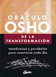 Libro De La Transformacion Oraculo Osho (Estuche + Libro De Cartas)