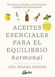 Libro Aceites Esenciales Para El Equilibrio Hormonal