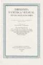 Papel Imprenta y crítica textual en el Siglo de Oro