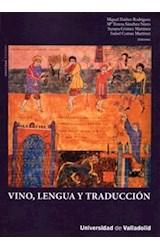 Papel VINO, LENGUA Y TRADUCCION (INCLUYE CD-R)