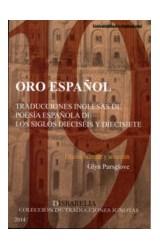 Papel ORO ESPAEOL TRADUCCIONES INGLESAS DE POESIA