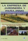 Libro La Empresa De Jardineria Y Paisajismo