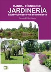 Libro Manual Tecnico De Jardineria