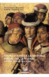 Papel Aportaciones a la historia social del lenguaje. 2a ed.