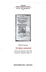 Papel Scripta manent