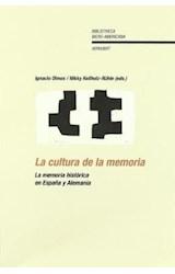 Papel La cultura de la memoria