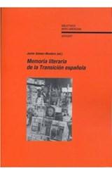 Papel Memoria literaria de la Transición española