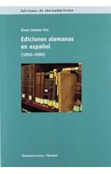 Papel Ediciones alemanas en español (1850-1900)
