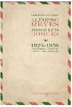 Papel DISCRETA EFUSION ALFONSO REYES JORGE LUIS BORGES 1923-1959