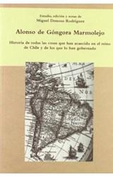 Papel Historia de todas las cosas que han acaecido en el Reino de Chile y de los que lo han gobernado