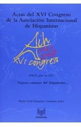 Papel Actas del XVI Congreso de la Asociación Internacional de Hispanistas