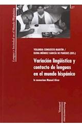 Papel Variación lingüística y contacto de lenguas en el mundo hispánico