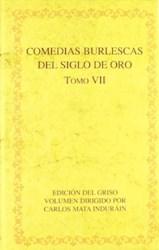 Papel Comedias Burlescas Del Siglo De Oro. Tomo Vii.