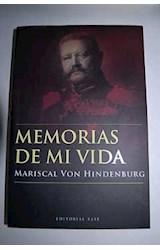 Papel MEMORIAS DE MI VIDA