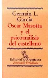 Papel OSCAR MASOTTA Y EL PSICOANALISIS DEL CAST.