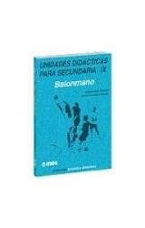 Papel SECUNDARIA IX UNIDADES DIDACTICAS . BALONMANO