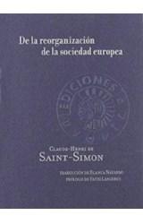 Papel DE LA REORGANIZACION DE LA SOCIEDAD EUROPEA