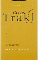 Papel OBRAS COMPLETAS -TRAKL, G.